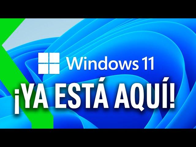 WINDOWS 11 ES OFICIAL!: TODO sobre el NUEVO SISTEMA OPERATIVO DE MICROSOFT en 4 MINUTOS