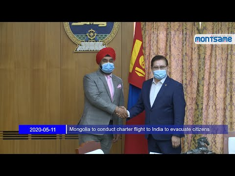Mongolia to conduct charter flight to India to evacuate citizens