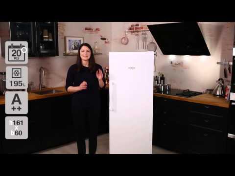 Bosch GSN29VW30 fritstående fryseskab