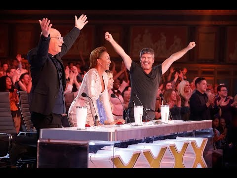 Top 4 GOLDEN BUZZER From Judges on America's Got Talent: The Champions (видео)
