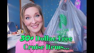 30+ Dollar Tree Cruise/Vacation Items
