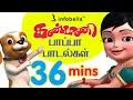 Kanmani Papa Padalgal Vol. 2 | Tamil Rhymes for Children | Infobells