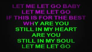 SC2208 06   Hill, Faith   Let Me Let Go [karaoke]