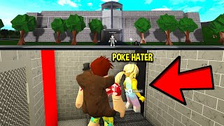 I Helped A POKE HATER Escape JAIL.. Her Plan Will Shock YOU! (Roblox)