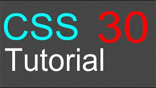 CSS Tutorial for Beginners - 30 - Block and Inline elements