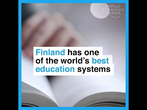 Finland has one of the world´s best education systems