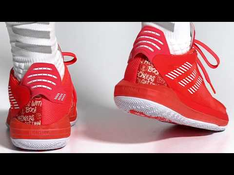 "adidas Dame 6 ""Hecklers Pack"" - Solar Red"