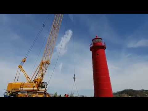 Video: Grand Haven south pier reconstruction starts for 2018