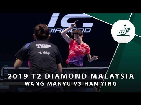 Wang Manyu vs Han Ying | T2 Diamond Malaysia (QF)