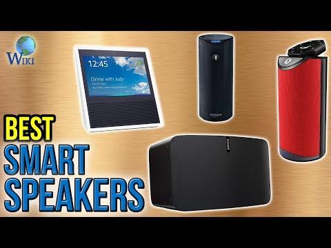 10 Best Smart Speakers 2017