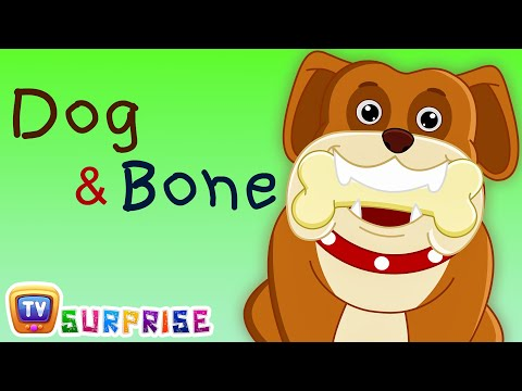 Bedtime Stories for Kids in English - Dog & Bone - Surprise Eggs Toys ChuChu TV Story Time