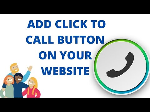 How to add click to call button on your website