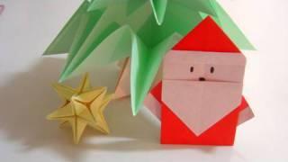 Origami - père Noël