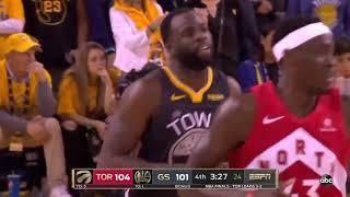 Game 6: Golden State Warriors vs Toronto Raptors   Full 4th Quarter Highlights   NBA Finals 2019