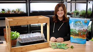 Planting Herb Seeds + Indoor Herb Growing Tips! 🌿💚 // Garden Answer