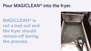 MAGICLEAN Fryer Cleaner