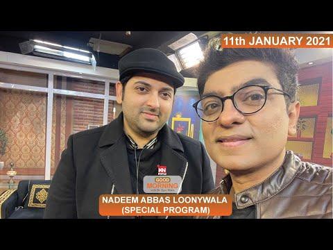 Good Morning With Dr Ejaz Waris | Nadeem Abbas Loonywala | 11 January 2021 | Kohenoor News Pakistan