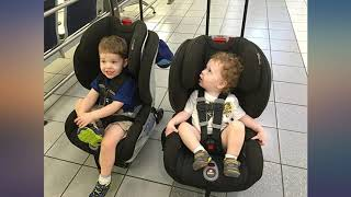 Britax Car Seat Travel Cart | Adjustable Handle + Compact Fold + Fits in Airplane review