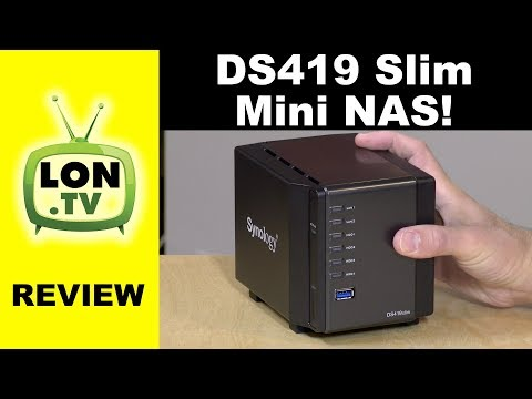 A Tiny NAS! Synology DS419 Slim Review / Ds419slim