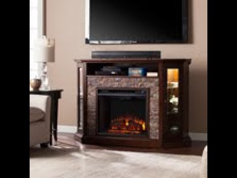 FE9392: Redden Corner Convertible Electric Media Fireplace Assembly Video