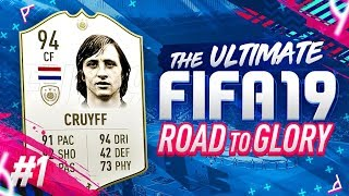THE ULTIMATE FIFA 19 ROAD TO GLORY EP01 - GETTING STARTED ON FUT!