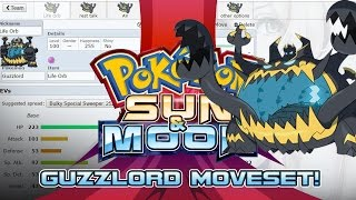 Guzzlord  - (Pokémon) - Guzzlord Moveset Guide! How to use Guzzlord! Pokemon Sun and Moon! w/ PokeaimMD!