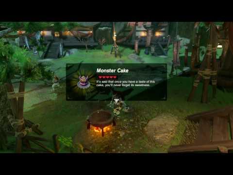 Video Zelda: BOTW (Royal Recipe // Fruitcake Recipe - Monster Cake Recipe)