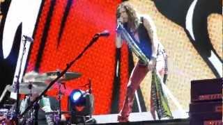 Aerosmith 'Lover Alot' Tampa, Florida Tuesday 12-11-2012