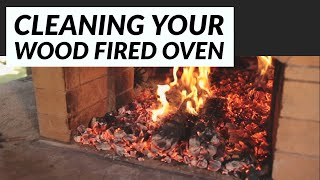 How To Clean Your Wood Fired Pizza Oven