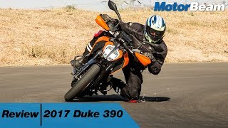 2017 KTM Duke 390 Review - Most Detailed Test Ride | MotorBeam