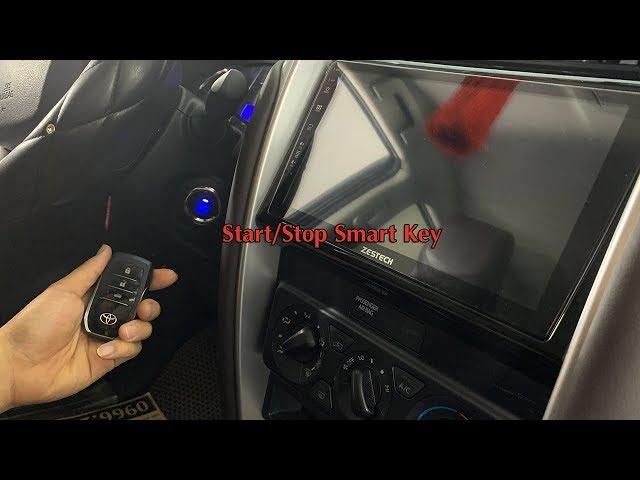Bộ Start/Stop Smart Key Cho Các Dòng Xe Sử Dụng Chìa Khóa Cơ