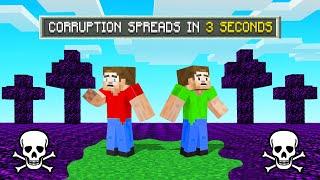 Get Caught In CORRUPTION = YOU DIE! (Minecraft)