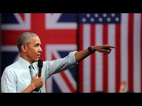 Obama Says Trump, Brexit Both Stir Up Anti-Immigrant Fear