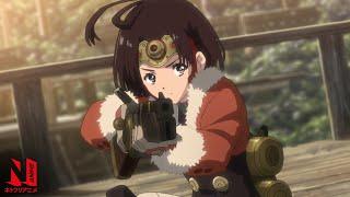 Kabaneri of the Iron Fortress: The Battle of Unato English Dub   Netflix Anime Clip: Meet Mumei