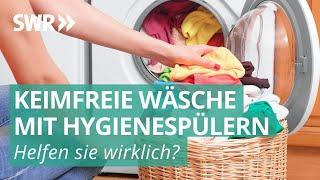 Hygienespüler für die Waschmaschine: Sinnvolle Helfer gegen Viren und Bakterien? | Marktcheck SWR