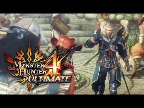 Monster Hunter 4 Ultimate vyjde v polovině února