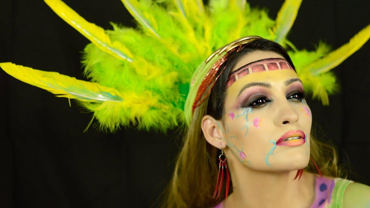 Reto #NyxSpainFaceAwards Diosas Mitologicas: Xochiquétzal - Diosa Azteca