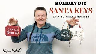 Holiday Magic Keys | October WINNER | Holiday DIY Craft | Christmas Wood Decor | Handmade Gifts