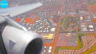 American Airlines A321 Beautiful Super Hot Landing at Phoenix Airport!