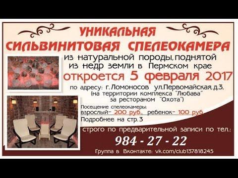 СИЛЬВИНИТОВАЯ СПЕЛЕОКАМЕРА г. Ломоносов ЗДОРОВЬЕ ИСЦЕЛЕНИЕ ВЫЗДОРОВЛЕНИЕ ОМОЛОЖЕНИЕ ДОЛГОЛЕТИЕ СПБ