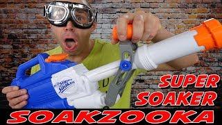 SUPER SOAKER SOAKZOOKA MIT 13 METERN REICHWEITE [...macht dich richtig nass !]