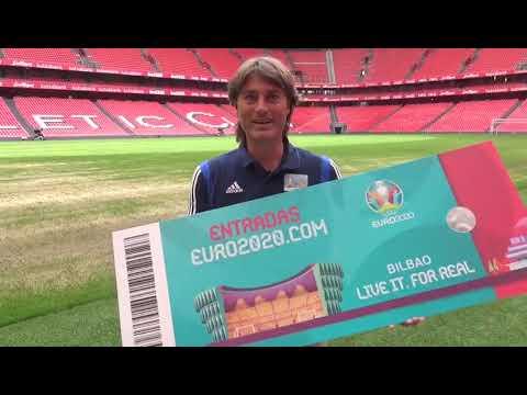 Julen Guerrero Embajador Eurocopa 2020
