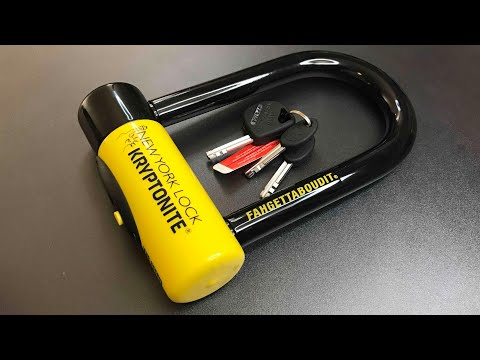 [546] Kryptonite Fahgettaboudit Bike Lock Picked and Disassembled