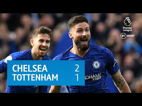 Chelsea vs Tottenham Hotspur 2 - 1 | EPL All Goals & Highlights | 22-02-2020