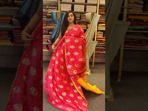 """<p style=""""color: red"""">Video : </p>FANCY BANARAS SAREES FROM MUGDHA FOR ORDERS 9949047889 2021-09-26"""