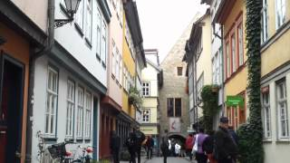 preview picture of video 'Krämerbrücke Erfurt'