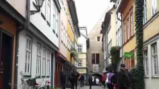 preview picture of video 'Krämerbrücke Erfurt'