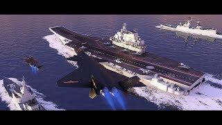10年后中国海军将有多强大?像印刷机一样大批造舰史无前例!