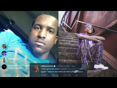 Lil Reese Confronts Quando Rondo & Sends Him A Message!?