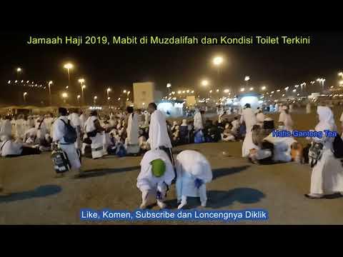 Jamaah Haji 2019, Mabit di Muzdalifah dan Kondisi Toilet Terkini